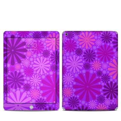 Apple iPad 5th Gen Skin - Purple Punch
