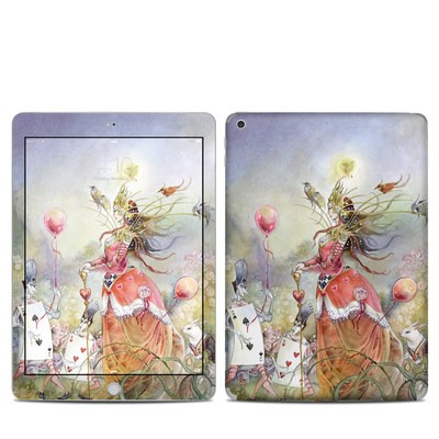 Apple iPad 5th Gen Skin - Queen of Hearts