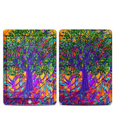 Apple iPad 5th Gen Skin - Stained Glass Tree