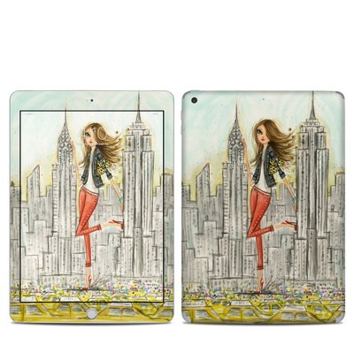 Apple iPad 5th Gen Skin - The Sights New York