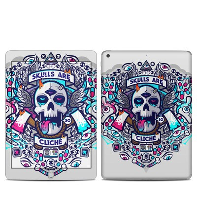 Apple iPad 5th Gen Skin - Skulls Are Cliche