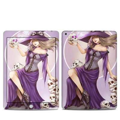 Apple iPad 5th Gen Skin - Skull Witch
