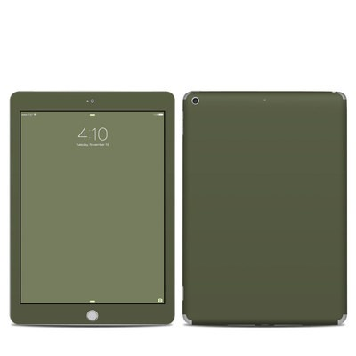 Apple iPad 5th Gen Skin - Solid State Olive Drab