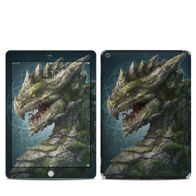 Apple iPad 5th Gen Skin - Stone Dragon