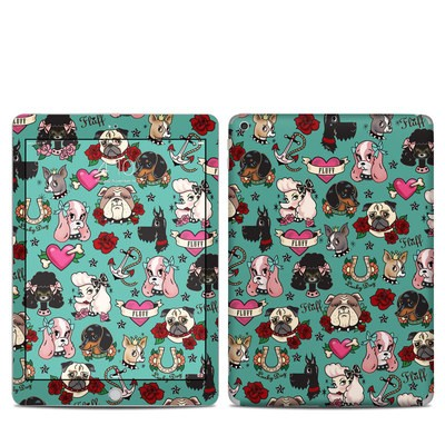 Apple iPad 5th Gen Skin - Tattoo Dogs