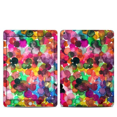 Apple iPad 5th Gen Skin - Watercolor Drops