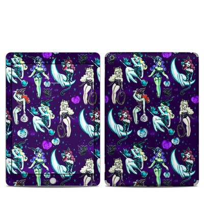Apple iPad 5th Gen Skin - Witches and Black Cats