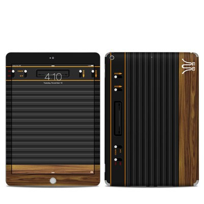 Apple iPad 6th Gen Skin - Wooden Gaming System