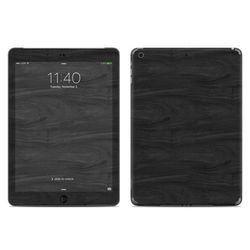 Apple iPad Air Skin - Black Woodgrain
