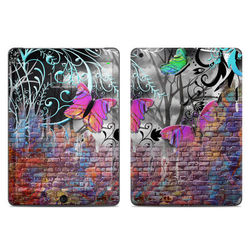 Apple iPad Air Skin - Butterfly Wall