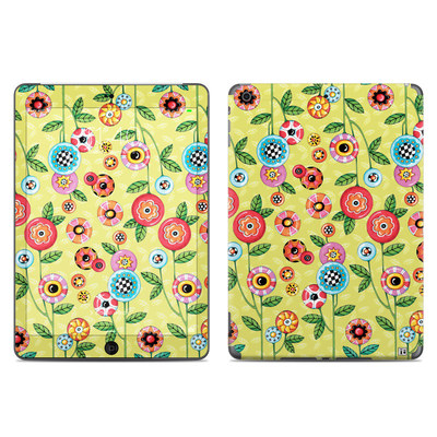 Apple iPad Air Skin - Button Flowers
