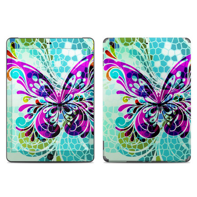 Apple iPad Air Skin - Butterfly Glass
