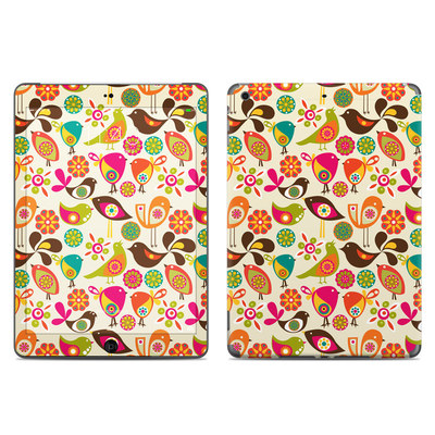 Apple iPad Air Skin - Bird Flowers