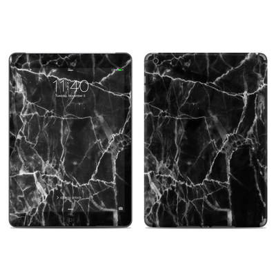 Apple iPad Air Skin - Black Marble