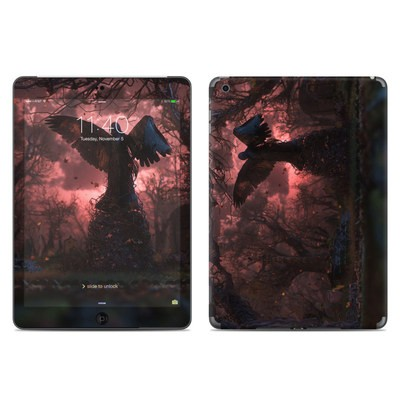 Apple iPad Air Skin - Black Angel