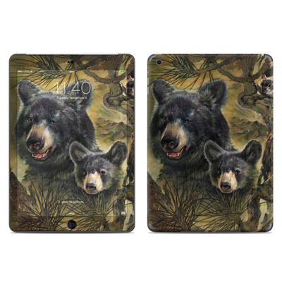 Apple iPad Air Skin - Black Bears