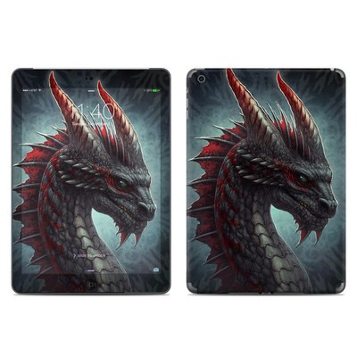 Apple iPad Air Skin - Black Dragon