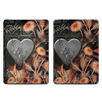 Apple iPad Air Skin - Black Lace Flower