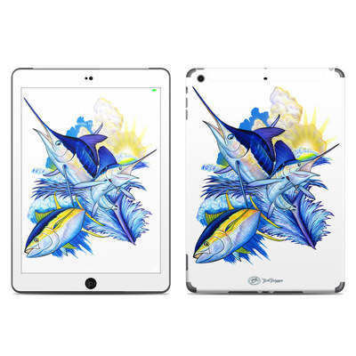 Apple iPad Air Skin - Blue White and Yellow