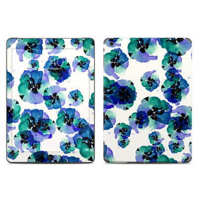 Apple iPad Air Skin - Blue Eye Flowers
