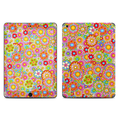 Apple iPad Air Skin - Bright Ditzy