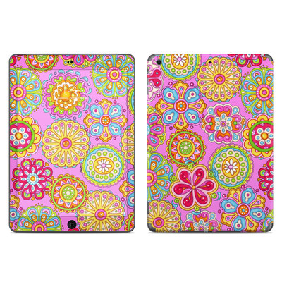 Apple iPad Air Skin - Bright Flowers
