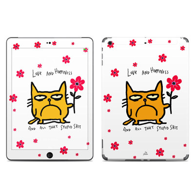 Apple iPad Air Skin - Catwad Happy
