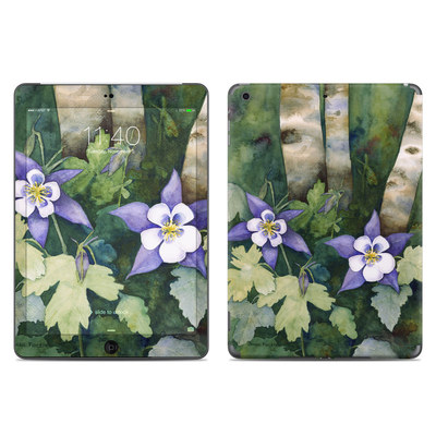 Apple iPad Air Skin - Colorado Columbines