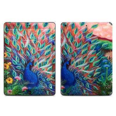 Apple iPad Air Skin - Coral Peacock