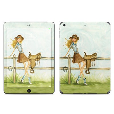 Apple iPad Air Skin - Cowgirl Glam