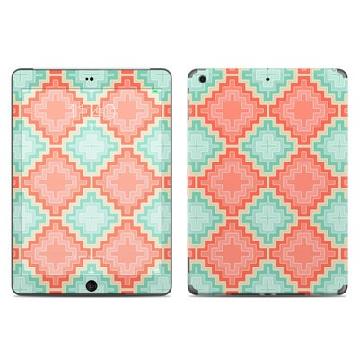 Apple iPad Air Skin - Coral Diamond