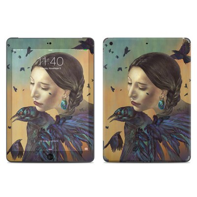 Apple iPad Air Skin - Crow Maiden