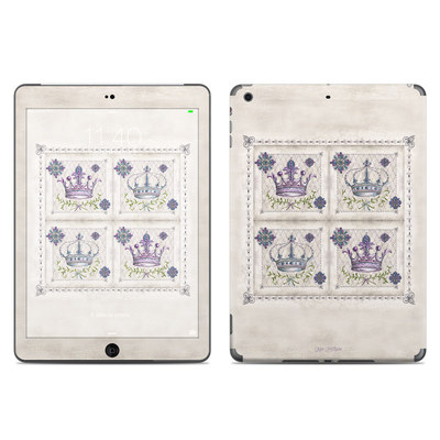 Apple iPad Air Skin - Purple Crown