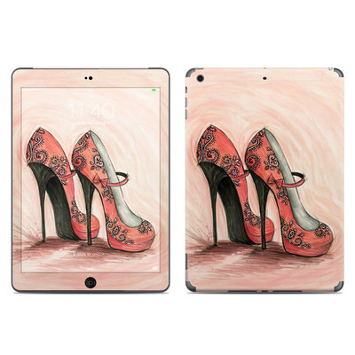 Apple iPad Air Skin - Coral Shoes