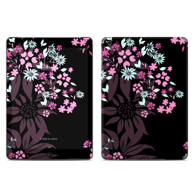 Apple iPad Air Skin - Dark Flowers
