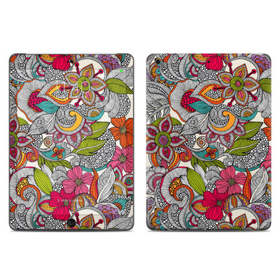 Apple iPad Air Skin - Doodles Color