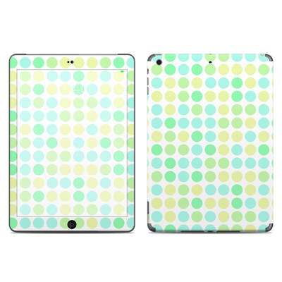 Apple iPad Air Skin - Big Dots Mint