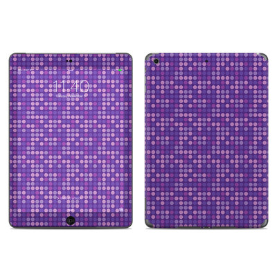 Apple iPad Air Skin - Dots Purple