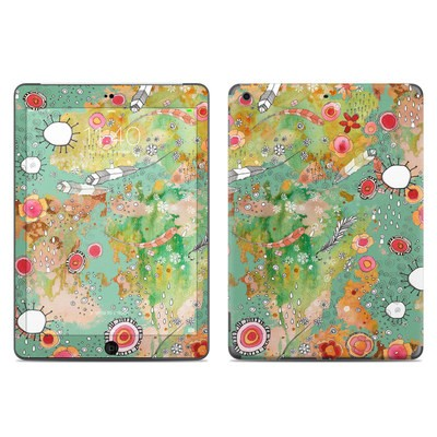 Apple iPad Air Skin - Feathers Flowers Showers