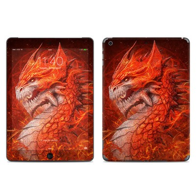 Apple iPad Air Skin - Flame Dragon