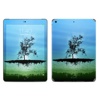 Apple iPad Air Skin - Flying Tree Blue