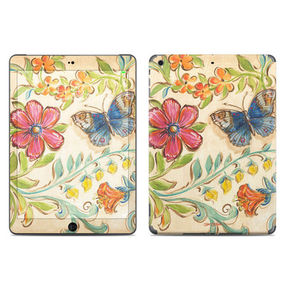 Apple iPad Air Skin - Garden Scroll