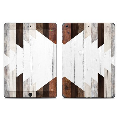 Apple iPad Air Skin - Geo Wood