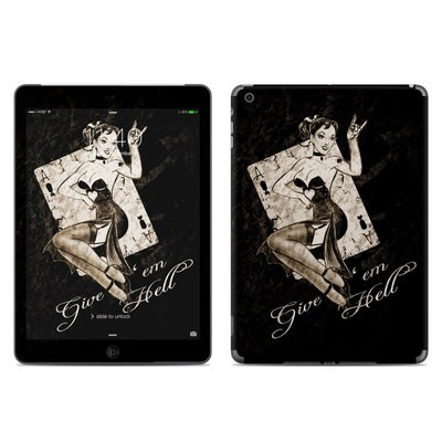 Apple iPad Air Skin - Give Em Hell