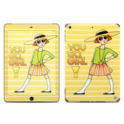 Apple iPad Air Skin - You Go Girl