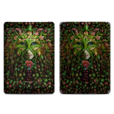 Apple iPad Air Skin - Green Woman