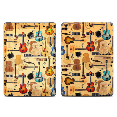 Apple iPad Air Skin - Guitar Collage