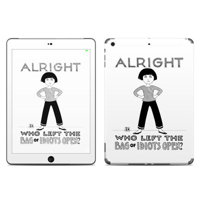 Apple iPad Air Skin - Bag of Idiots