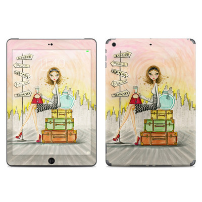 Apple iPad Air Skin - The Jet Setter