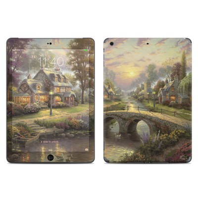 Apple iPad Air Skin - Sunset On Lamplight Lane